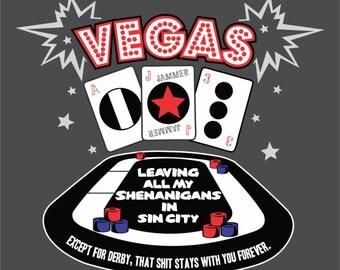 Roller Derby T-shirt - Vegas