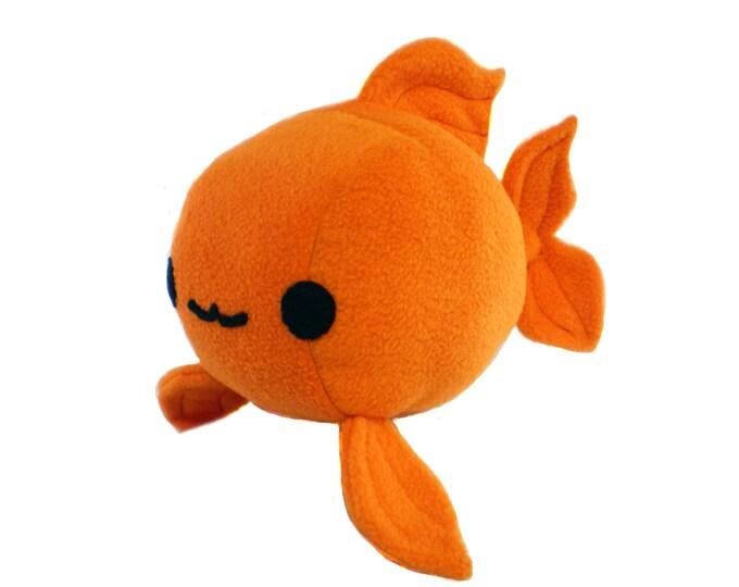Goldfish Plush Toy Pattern