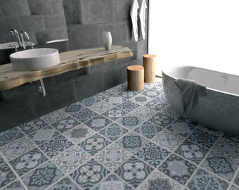 Floor Tile Decals Flooring Vinyl Floor Bathroom Flooring Kitchen Flooring Tile