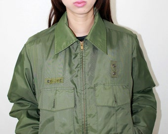 Army Green Military Jacket
