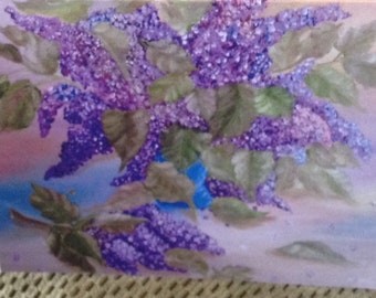 Victorian Lilacs by Donna Bruck note cards set of 6