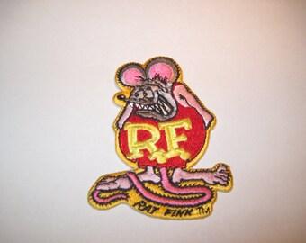 """Rat Fink Patch 3 3/4"""" X 2 3/4"""""""