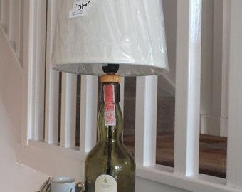 Lagavulin Single Malt Islay Whisky Table Lamp + Lampshade - UK Plug with on/off switch.