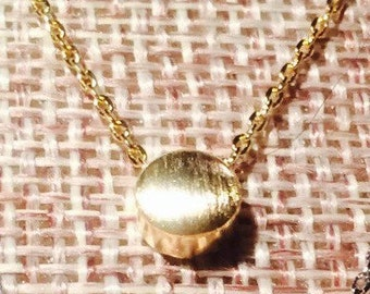 Gold Dot Necklace