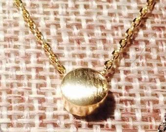 Gold Dot Necklace
