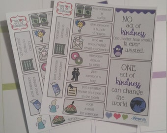 Random Acts of Kindness #0024 - Erin Condren, Kikki K, Filofax, Happy Planner