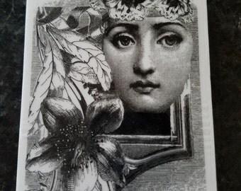 La Blanche/Ladies Face Stamp