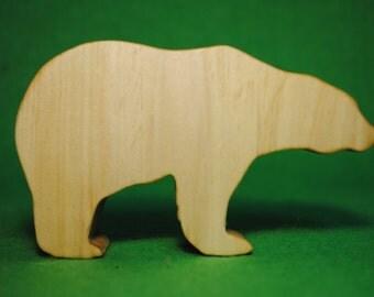 Wood bear - Wooden Toy - Wooden bear - bear Toy - Wood Toy - Organic Toys - Toy Animals - Waldorf Toy - Wooden Animals