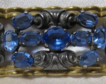 Fabulous Vintage Czech Glass Brooch
