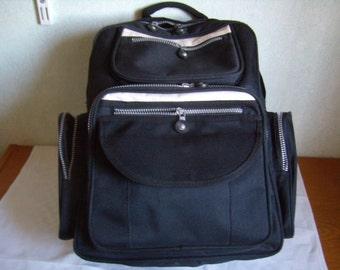 Backpack, school bag, bag, computer bag, Briefcase, purse, Vintage 1980
