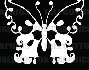 Butterfly Vinyl Decal #BS022