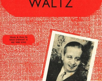 Tennessee Waltz. Featured by Geraldo. Sheet Music Instant Download. Cover Artwork.