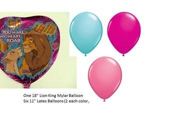Lion King Balloon Set