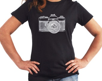 Retro Camera Women T-Shirt