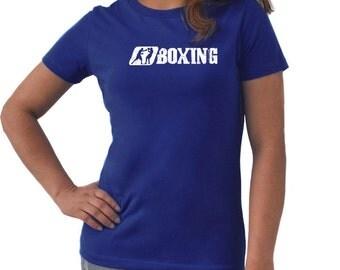 Boxing Women T-Shirt