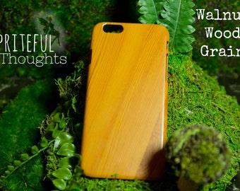 Wood Grain Phone Case - iPhone 6