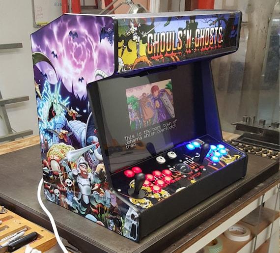 Countertop Arcade : Handmade fully functional bartop / countertop hyperspin arcade machine ...