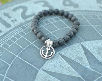 Lavabead diffuser bracelet, Diffuser Bracelet, Aromatherapy Bracelet, Essential Oils Bracelet, Diffuser, Bracelet, Stretchy bracelet, Arrow