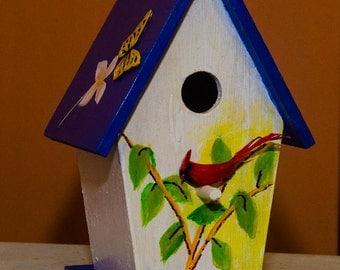 Handpainted Birdhouse6