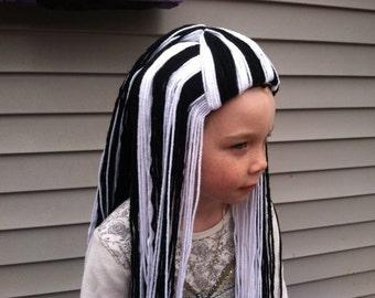 Frankie Stein Wig, Frankie Costume, Monster High Costume, Kids Costumes, Frankie Stein, Kids Wigs, Monster High, Yarn Wigs, Monster High Wig