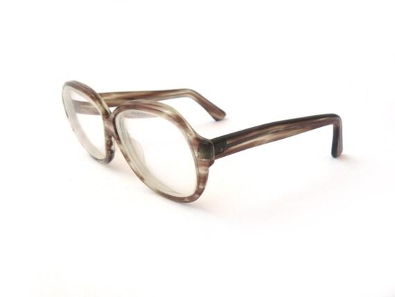 Clear Frame Glasses Hipster : Vintage reading glasses spectacle frames hipster glasses