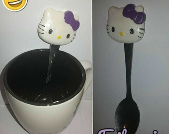 Spoons Hello Kitty, hand made