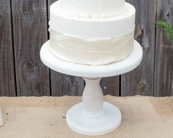 Wedding Cake Stand, Rustic Wood Cake Stand