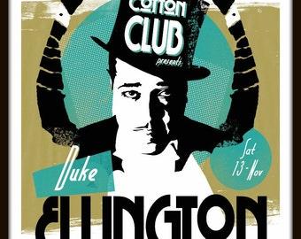 Duke Ellington by Elliot Griffin Limited Edition Print