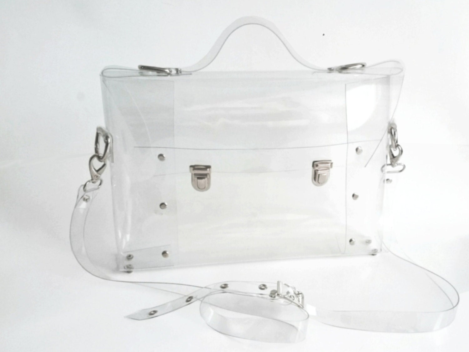 Clear Satchel Handbag | Luggage And Suitcases