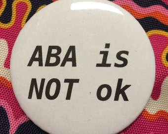 ABA is not OK Button