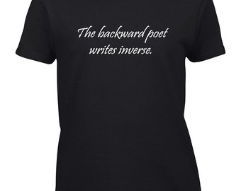 Clearance: The Backward Poet Writes Inverse