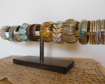 Bracelet Display, Bracelet Holder, Rustic Cuff Display
