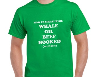 How To Speak Irish Funny St Patricks Day T-Shirt or Tank Gift