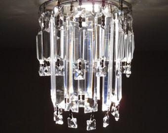 Crystal Pendant Recessed Light MELODIE Model Pendant Spot Light