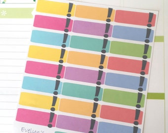 Important / Exclamation Point Planner Stickers