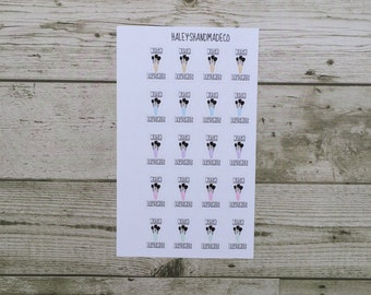 Wash Makeup Brushes Stickers
