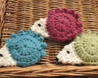 Hedgehog brooches