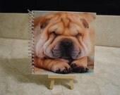 Shar-Pei Dog Notebook