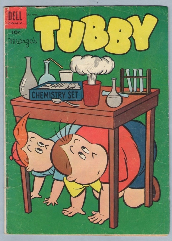 Marge's Tubby 10 Dec 1954 VG- (3.5)