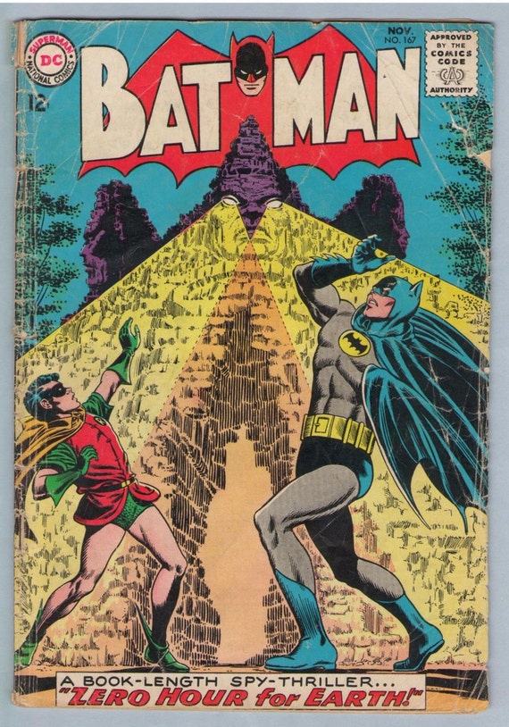 Batman 167 Nov 1964 GD (2.0)