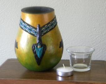 Gourd Vase Candle Holder
