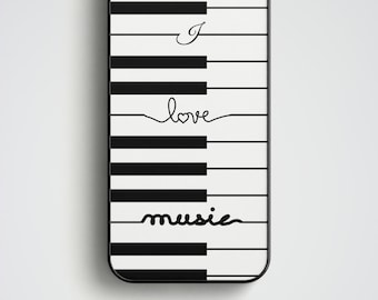 Piano iPhone 6S Case, Music iPhone 6 Case, iPhone 6 Plus Case, iPhone 5S Case, iPhone SE Case, Piano Phone Case, Music phone case