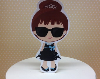 Breakfast at Tiffanys Party Cake Topper