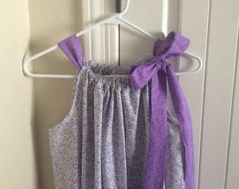 Lavender hospital delivery gown