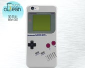 Gameboy Nintendo phone case, iPhone 6 6s 6Plus gameboy case gameboy iPhone 5 5s 5c 4 4s case Samsung Galaxy S3 S4 S5 S6 printed gameboy case
