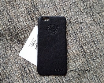 iPhone 7, 6, 6s leather case 'Black'