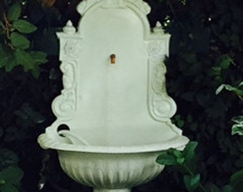 French Lavabos Wall  Mounted Fountain