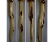 51.5 in Long Diamond Willow Wood Walking Cane with Knob Handle Wooden Knob Cane Short Walking Stick Tall Hiking Cane Woodcraft Handmade Gift
