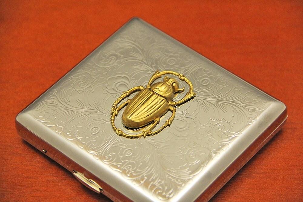 Bug visitenkarte fall metall visitenkarten box halter sehr - Metall visitenkarten ...