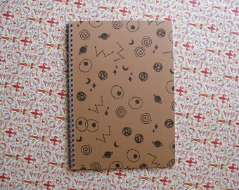 Space notebook - Lined / A5 paper size